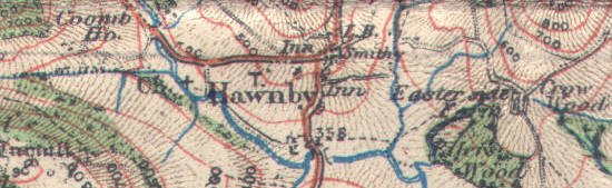 Extract of 1914 map